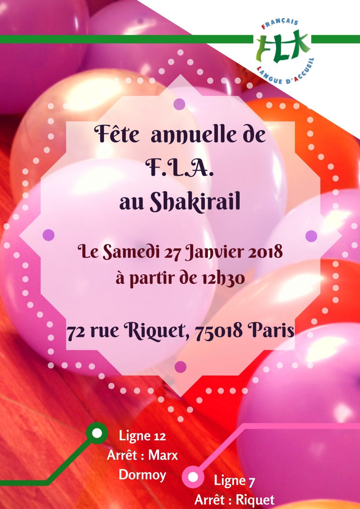 Fête Annuelle Français Langue d'Accueil